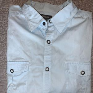 Kenneth Cole Reaction baby blue button down